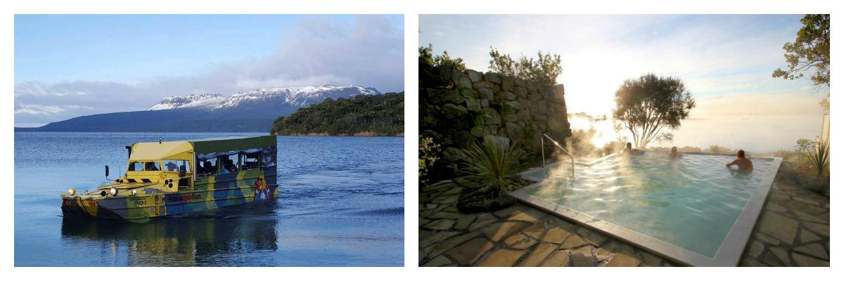 The Duck Tour + Lake Spa Combo - Rotorua Duck Tours