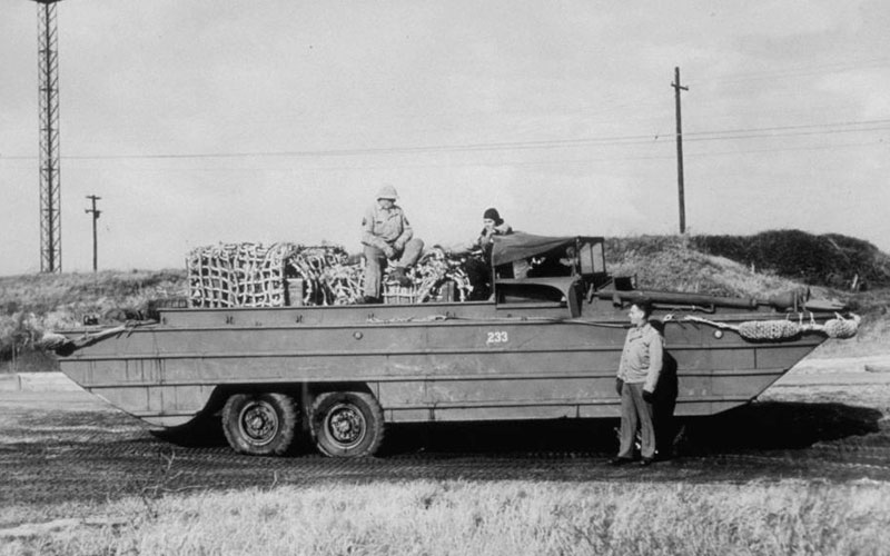 The eye-opening history of the amphibious boat: Invented for WW2
