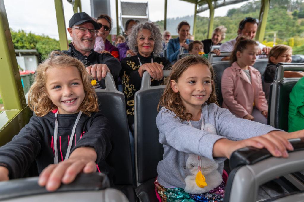 Families enjoying the Duck Tour